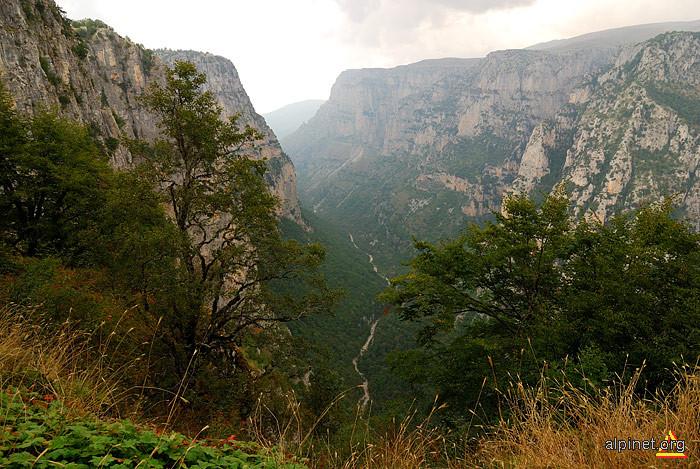 Canionul Vikos Aoos