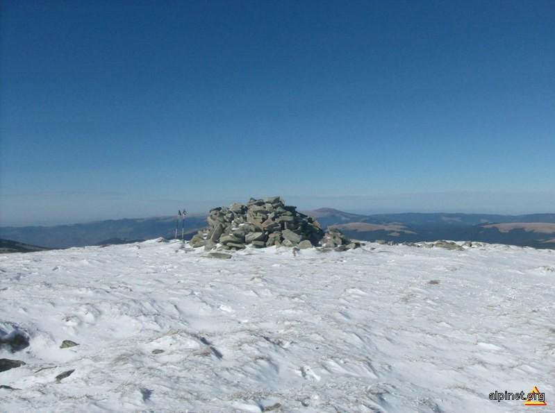 Pe varful Mohorul (2337 m alt.)