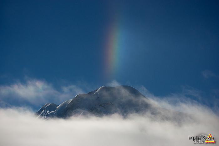 Ice rainbow