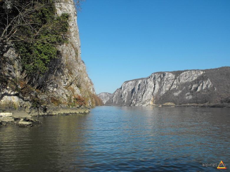 Pe Dunare in Cazanele Mari