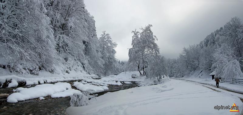 Iarna pe Bârsă