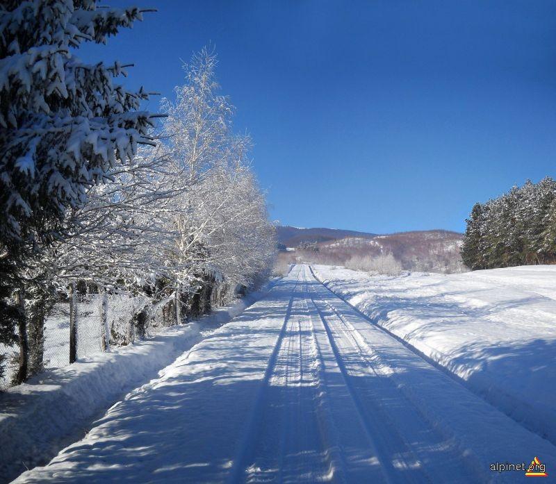 Iarna la Radosi