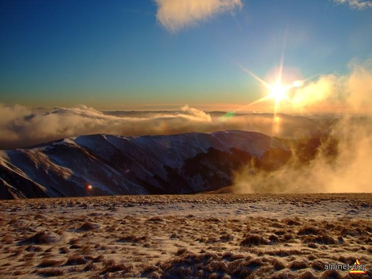 Răsărit spre valea Doftanei