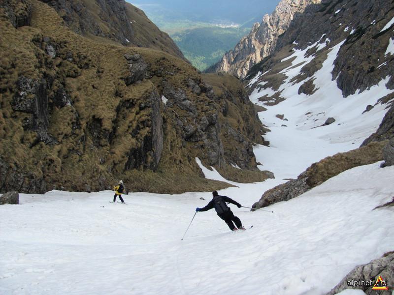 Schi pe Valea Morarului