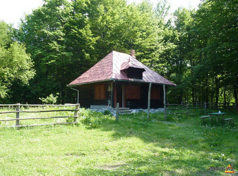 Cabana din Poiana Musuroane