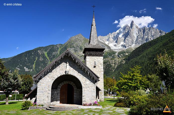 Biserica din Le Praz du Chamonix