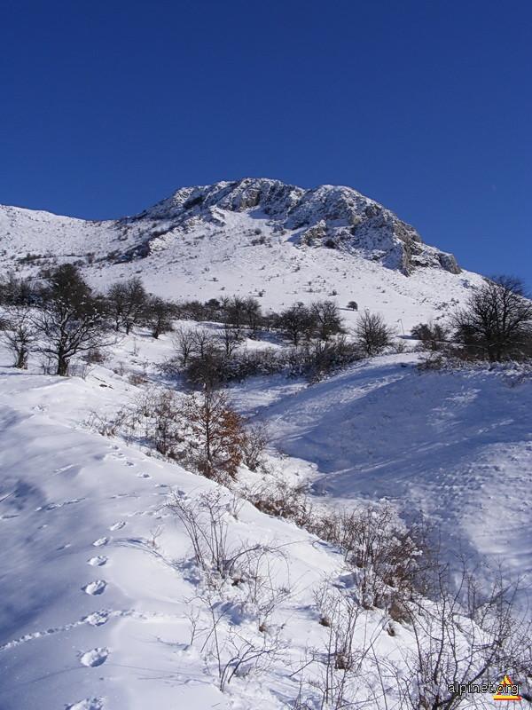 Iarna in Trascau