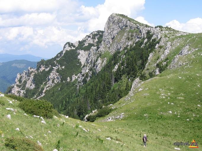 Șaua Ștevioara și Vârful Vioreanu(Vânturarița Mare) 1866 m