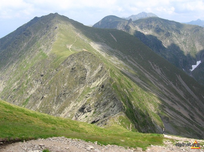 Panorama spre Vârful Laița