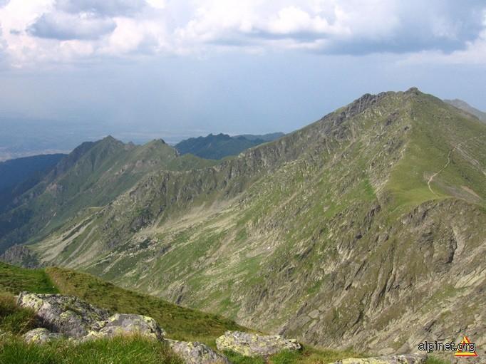 Vârful Lăitel și Muchia Piscul Bâlei