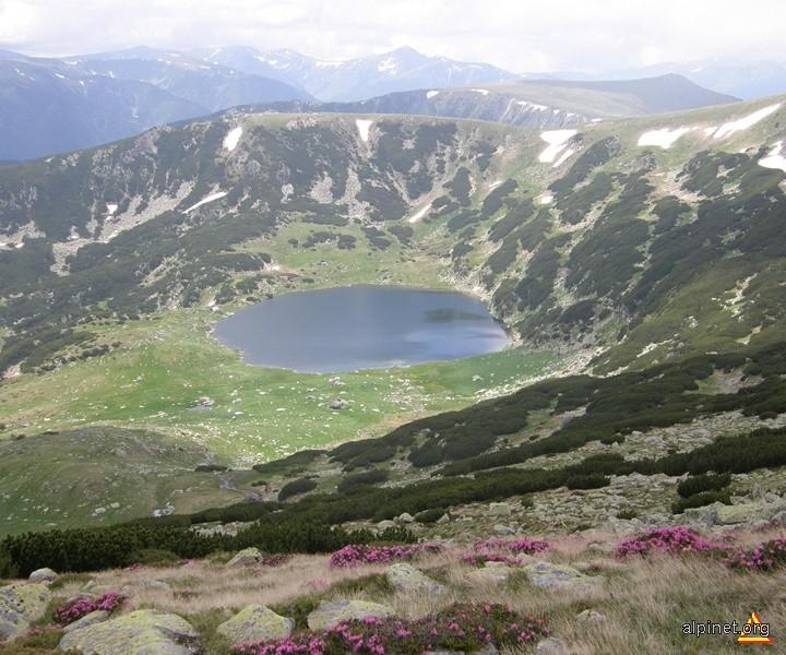 Lacul Zănoaga, Parcul Național Retezat