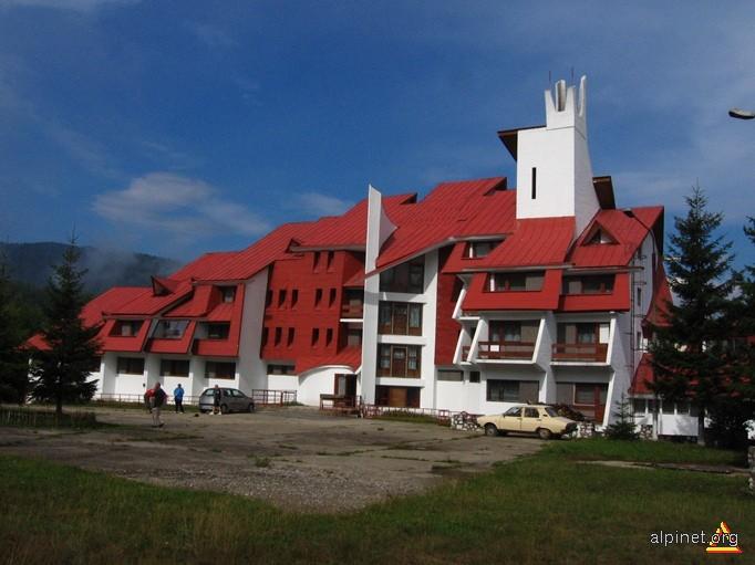 Motelul Valea de Pești