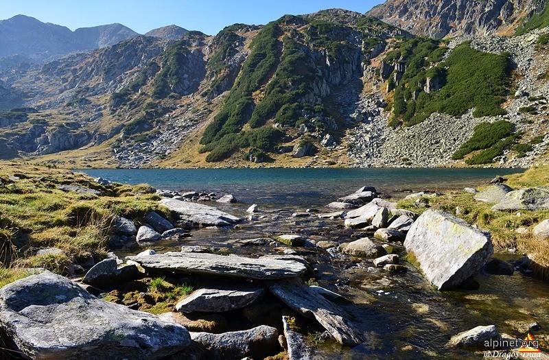Un lac Gales...
