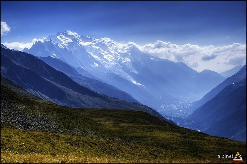 chamonix valley & mont blanc