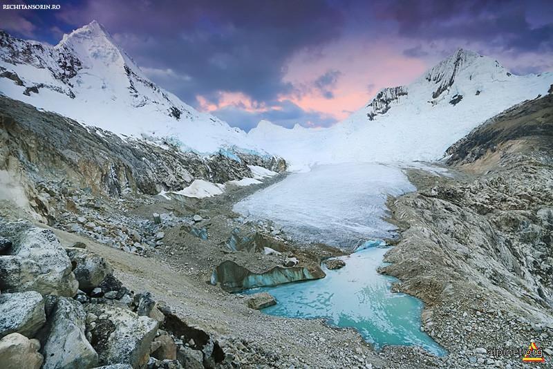 Artesonraju Glacier