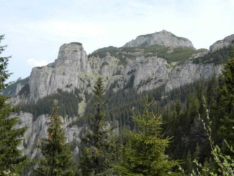Vf. Toaca şi Piatra Ciobanului