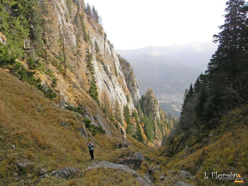 Valea Spumoasa din Caraiman