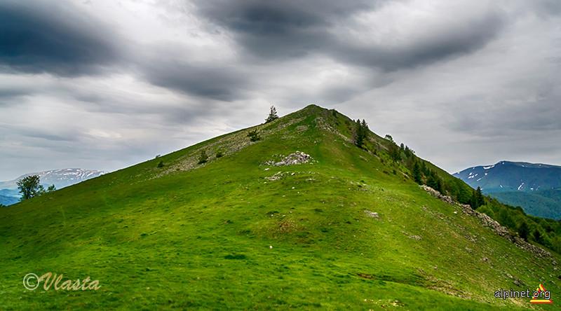 Vârful Cozia din munții Cernei